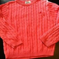 Lilly Pulitzer Pink Cable Sweater 6x Play Photo
