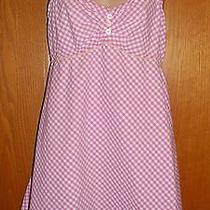 Lilly Pulitzer Pink Gingham Nightgown Nightie M Medium Photo