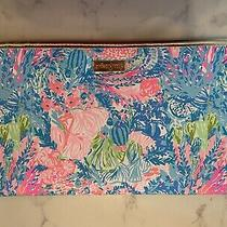 Lilly Pulitzer Purse Clutch Lovers Coral Photo