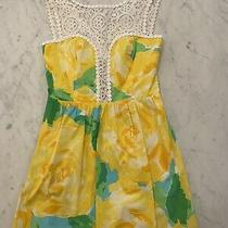 Lilly Pulitzer Raegan Dress Size 0 Yellow Photo