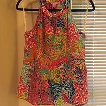 Lilly Pulitzer Rogan Top Fishing for Compliments Small Photo