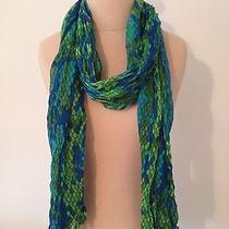 Lilly Pulitzer Scarf Gifts Accessories Green Blue Photo