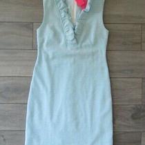 Lilly Pulitzer Tisbury Shift Dress Succulent Blue Stripe Nwt 158 Xs Photo