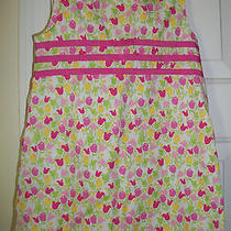 Lilly Pulitzer Tulip Shift Dress 4t  Nice Photo