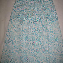 Lilly Pulitzer Vintage Lamb/clover  Classic Wrap Skirt  Photo