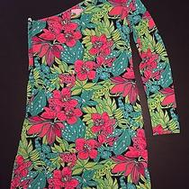 Lilly Pulitzer Whitaker Dress in Skip on It Print Rare Unique  Photo
