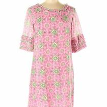 Lilly Pulitzer Women Pink Casual Dress 6 Photo