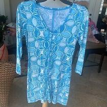 Lilly Pulitzer Xs Christie Scuba to Cuba T Shirt Dress Pima Cotton Xsmall 3/4  Photo