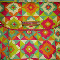 Lily Bloom Canvas Multicolor Backpack Christy Karma Flower Bag Photo