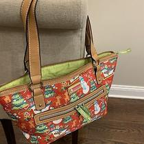 Lily Bloom Christmas Holiday Shoulder Purse-New Photo