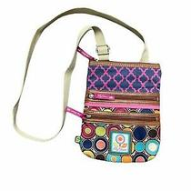 Lily Bloom Crossbody Bag Purse Shoulder Bag Eco Friendly Recycled Photo