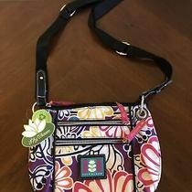 Lily Bloom Crossbody Colorful Floral Purse Photo