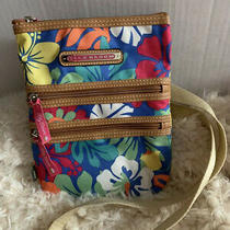 Lily Bloom Floral Crossbody Purse Handbag Photo