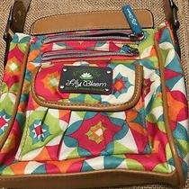 Lily Bloom Green Living Multi Color Crossbody Purse Photo