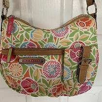 Lily Bloom Hobo Bag Crossbody Flowers Large Purse - Nice Photo