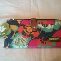 Lily Bloom Large Clutch Floral Fiesta Travel - Passport Wallet Nwt  Photo