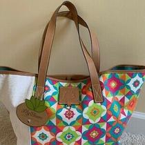 Lily Bloom Large Colorful Tote - New Photo