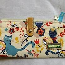 Lily Bloom Love Cats Travel Wallet With Id Holder and Coin Purse Photo