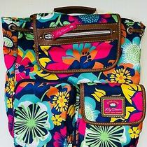 Lily Bloom Riley Bag Backpack Floral Fiesta New Nwt Recycled Plastic Knapsack Photo