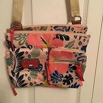 Lily Bloom Tropical Pineapple Gigi Mini Crossbody Message Shoulder Bag Photo