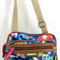 Lily Bloom Turtle Power Gigi Crossbody Handbag Multi-Color New Nwt Photo