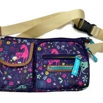 Lily Bloom Uni Corny Eco-Friendly Janet Belt Bag Unicorns Fanny Pack Front Pac Photo