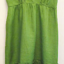 Lime Empire Dress Ruffle Hem Beautiful Photo