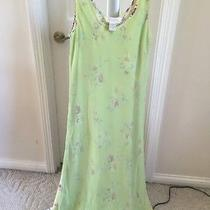 Lime Green Dress by Express 7/8 Photo