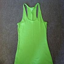 Lime Green Express Tank Top Size Medium Photo