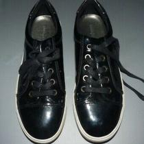 Limelight Shine Black Silver Gothic Goth Punk Sneakers Shoes Size 10 Photo