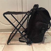 Limited Edition Alexander Wang Hm Black Backpack Camping/fishing/festival Chair Photo
