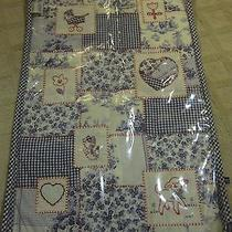 Limited Edition Brighton Mirabella Denim Toile and Embroidery Diaper Changer  Photo