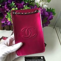 Limited Edition Chanel Iphone / Card Sling Pouch Bag Fits Iphone 6 Photo