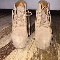 Limited Edition Jeffrey Campbell Rayvin Claw Suede Tan Platform Shoes Photo