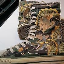 Limited Edition Soho Lab by Skechers High Tops Camo W/dragon Embroidery Zipper 8 Photo