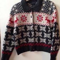Limited Holiday Sweater Cardigan  Xs Guc Photo