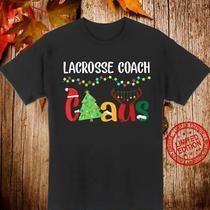 Limited Lacrosse Coach Claus Santa Costume Christmas Xmas T-Shirt Hallothanhsmas Photo