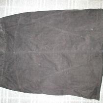 Limited Stretch-Ladies Vintage Retro Corduroy Skirt Size 8-10 Straight Stretch Photo