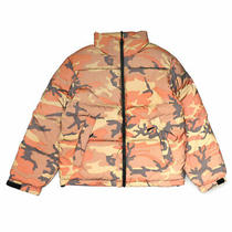 Limited Time Store Manager Whimsy Supreme Reflective Camo Down Jacket Orange Photo