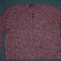 Limited Wine Wool Blend Sweater  Sz. M Photo