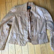 Linda Allard Ellen Tracy Light Brown  Suit Jacket Blazer Size 10 Photo
