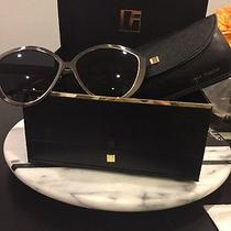 Linda Farrow Cat Eye Sunglasses Lfl340 W/ Snake Detail With Case and Box Photo