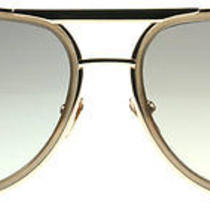 Linda Farrow Luxe 236 Mocha With Rose Gold C4 Sunglasses Photo
