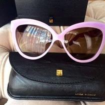 Linda Farrow Luxe Pastel Violet Lfl 38 Snakeskin Sunglasses Photo