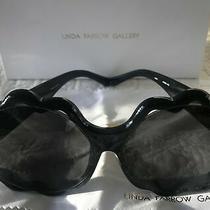 Linda Farrow X Markus Lupfer Oversized Cloud Sunglasses Black Made in Japan New Photo