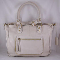 Linea Pelle Dylan Crossbody Tote in Sand Nwt Photo