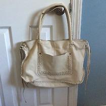 Linea Pelle Off White Cream Tassel Bag Photo