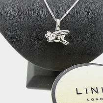 Links of London Sterling Silver Flying Pig Wings Necklace Charm Pendant Tiffany Photo