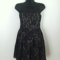 Little Black Robert Rodriguez Lace Party or Prom Dress Photo