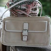 Little Coach Bag Red and Creams Photo